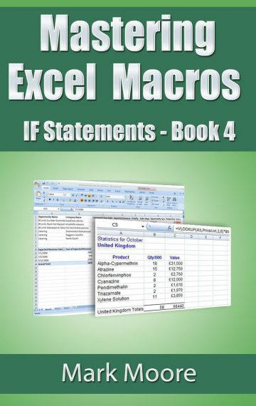 Mastering Excel Macros: IF Statements (Book 4)
