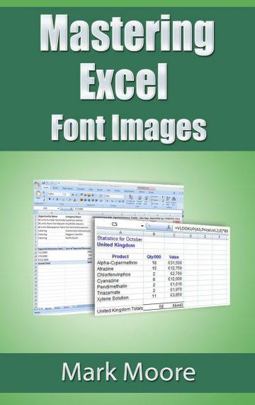 Mastering Excel: Font Images