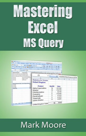 Mastering Excel: MS Query