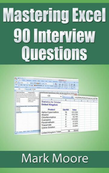 Mastering Excel: 90 Interview Questions
