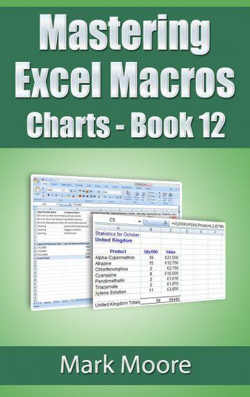 Mastering Excel Macros: Charts (Book 12)