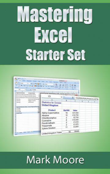 Mastering Excel: Starter Set
